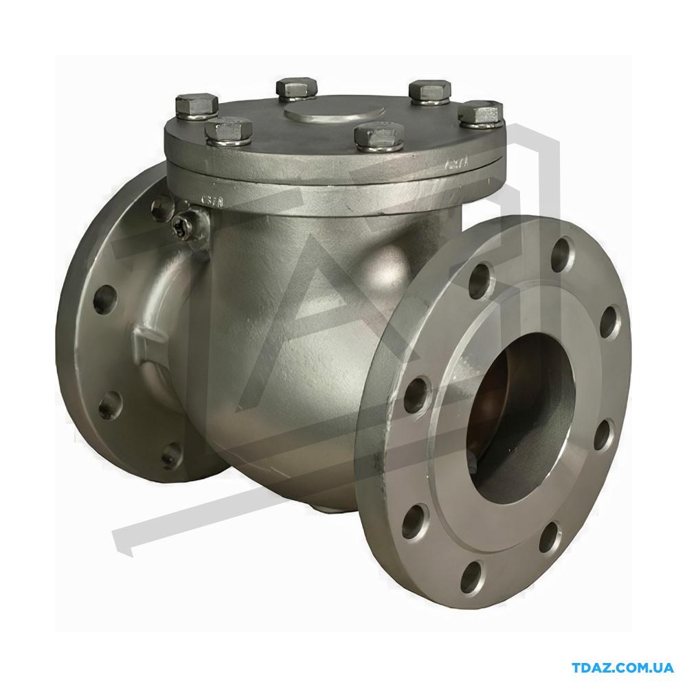 Обратный клапан стальной поворотный 19с16нж, 19с53нж Ру25